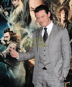 HOLLYWOOD, CA - DECEMBER 02: Luke Evans attends the premiere of 'The Hobbit: The Desolation Of Smaug' at TCL Chinese Theatre on December 2, 2013 in Hollywood, California. <br /> CAP/DVS<br /> ©DVS/Capital Pictures