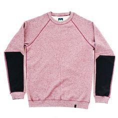 Aegis Sweatshirt - Crimson Mix