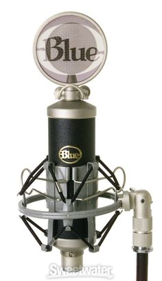 Blue Baby Bottle Microphone - beautifully crafted and sounds amazing for its price!