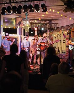 The Purple Fiddle in Thomas is one of West Virginia's many awesome small music venues.
