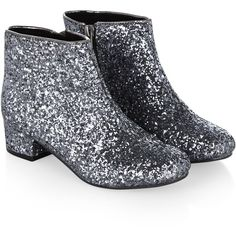 Monsoon Super Glitter Ankle Boot Shoe ($55) ❤ liked on Polyvore featuring shoes, boots, ankle booties, colorblock boots, glitter ankle boots, short boots, zipper booties and bootie boots