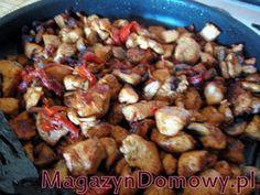 Shoarma z kurczaka z warzywami - Przepisy Laury Kung Pao Chicken, Curry, Meat, Ethnic Recipes, Food, Beef, Kalay, Meals, Curries