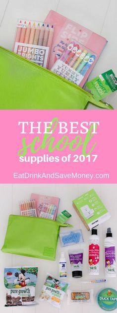The best school supplies of 2017 Babblebox #BTSBabbleboxx #sp  6 Back to School Items I'm Loving Right Now https://eatdrinkandsavemoney.com/2017/08/21/6-back-to-school-items-im-loving-right-now/