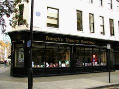 Book shop. Fitzroy street, London