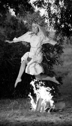 Kupala Night is celebrated in Ukraine, Belarus, Poland and Russia currently on the night of 6/7 July. The celebration relates to the summer solstice when nights are the shortest and includes a number of Pagan rituals.  On Kupala day, youth jump over the flames of bonfires in a ritual testing of one's bravery and faith.