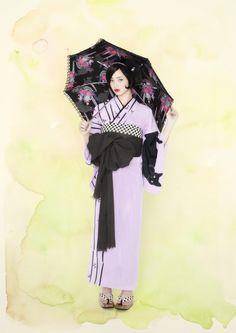 """Komatsu Nana 小松 菜奈 for furifu ふりふ Yukata mook """"Kimono Girl"""" ゆかたムック本『キモノガール』- April 2011"""