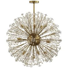 Shop for Visual Comfort KS kate spade new york Dickinson Large Pendant in Soft Brass at Foundry Lighting Pearl Chandelier, Globe Chandelier, Chandelier Lighting, Circa Lighting, Empire Chandelier, Task Lighting, Pendant Lights, Lighting Ideas, Visual Comfort Lighting