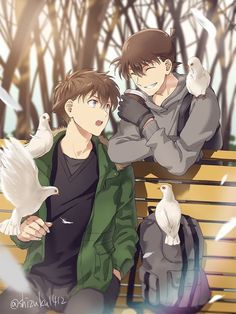 Dc Anime, Kawaii Anime, Anime Guys, Manga Anime, Conan Comics, Detektif Conan, Detective Conan Shinichi, Magic For Kids, Kaito Kuroba