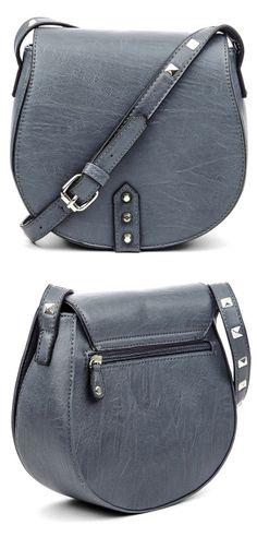 Studded Crossbody Handbag