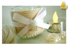 lembrancinha Casamento - vela aromática