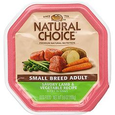 Nutro Natural Choice Slices in Gravy Small Breed Adult Dog Food ____ also the Roasted Turkey Vegetable Entrée flavor is located under this verity ___ $31 per case (Case of 24)