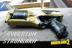 Picture of Nerf Strongarm Borderlands 2 Hyperion gun replica