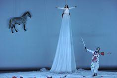 Grane, das Ross, Brünnhilde & Siegfried aus Mannheim. Scenography Theatre, Theater, Staging, Mannheim, Opera, Theatres, Teatro, Drama Theater