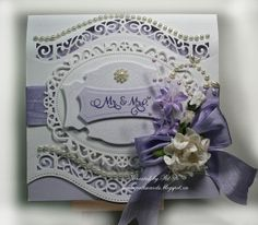 Paper, Markers, Ink, Oh My!: Wedding card