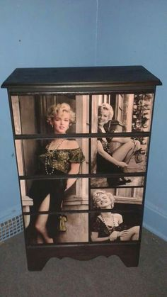 Custom designed Marilyn Monroe Dresser