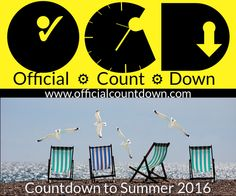 How many days until Summer? - Counting down the days to Solstice 2016 with a free online Countdown Clock. Not much longer now! See the Live Summer Countdown timer here: http://www.officialcountdown.com/summer_countdown/