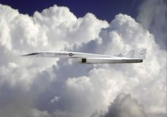 XB70 Valkyrie -- beautiful -- I think they made 3 of these and crashed 2 of them. The remaining one is at the Air Force Museum in Ohio.: