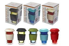 The best way to keep coffee hot is with insulated mugs. It's hard to keep your coffee hot so we've made a guide of the best insulated mugs to help you. Coffee Travel, Travel Mugs, Insulated Mugs, Glass Coffee Mugs, Drinkware, Brewing, Good Things, Tea, Kitchen Stuff