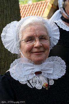Traditional Dutch Costume from Oldebroek (Gelderland).