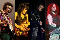 Top 50 Hard Rock + Metal Guitarists of All Time