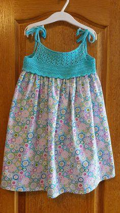 98 Likes, 9 Comments - crochet Frocks For Girls, Kids Frocks, Tutus For Girls, Little Girl Dresses, Crochet Girls, Crochet For Kids, Crochet Fabric, Knit Crochet, Baby Tulle Dress