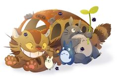 Totoro by ~Flying-Fox on deviantART