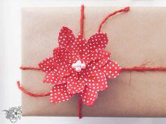 Pinsettia Gift Embel