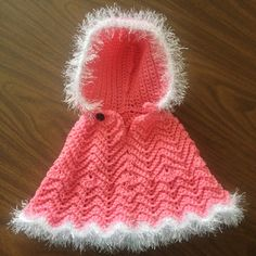 Crochet For Children: Baby Style Poncho - Free Pattern