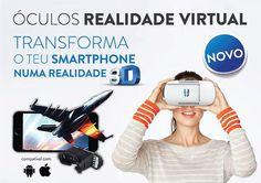Smart Talk acaba de lançar os 3D VR Glasses compatíveis com sistemas Android e iOS | ShoppingSpirit