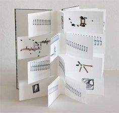 "'40 poems' handmade artist book by Barbara Brown 16""h x 14""w"