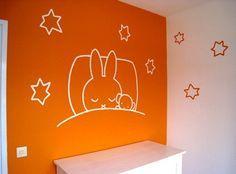muurschildering takkie jip en janneke kinderkamer   Ideeen baby ...