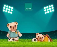 Il simpatico Teddy Thun è pronto per i  ⚽️ Mondiali2018 ⚽️ Sarà un deciso attaccante o un abile portiere⁉️