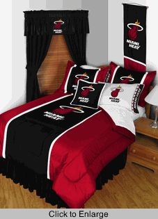 Miami Heat Sidelines Bed in a Bag