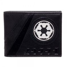 Star Wars Imperial Logo Black Bifold Wallet PU Rogue One NEW Bi-Fold Dark Side #Bioworld #Bifold