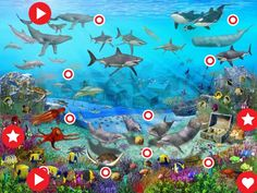 under the sea wall murals Wallpaper Gratis, Wallpaper Free Download, Painting Wallpaper, Hd Wallpaper, Laptop Wallpaper, Laptop Backgrounds, Nature Wallpaper, Ocean Mural, Theme Anime