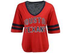 Houston Texans Touch by Alyssa Milano NFL Women s Quarterback T-Shirt  Texans Quarterback e7ef2c097