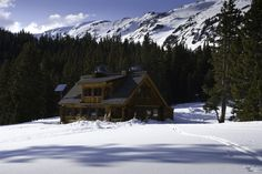 Cozy up with friends and hot toddies around a fire in your own hut. Snowshoe or ski to one of the many huts managed by Colorado's 10th Mountain Division.