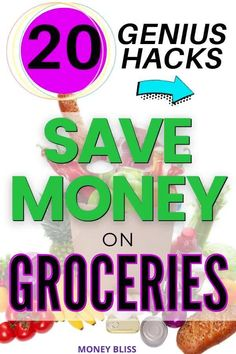 Here are the ways to save money on groceries from Money Bliss. Our grocery budget improved with the best way of #7 - that saved us thousands of dollars without coupons. Part of frugal living is learning how to save money on groceries. Use cash back apps to make money. Plan your dinner meals with these money saving tips! Download your free printable for stock up prices and meal planning calendar. | Money Bliss Save Money On Groceries, Ways To Save Money, How To Make Money, Saving Ideas, Money Saving Tips, Meal Planning Calendar, Money Plan, Digital Coupons, Grocery Items