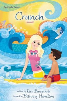 Book four of the Soul Surfers Series, Crunch, follows Bethany while on a mission trip with her youth group to Mexico, where she meets a soccer-loving little boy who captures her heart in an unexpected way and helps him discover the father of his dreams. But because of a promise she makes to him, Bethany's competition in a prestigious surf contest is threatened.