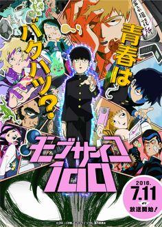 """Mob Psycho by Studio Bones, 2016 Manga Anime, Manga Art, Anime Art, Wallpaper Animé, Cute Anime Wallpaper, Poster Retro, Cute Poster, Poster Anime, Mob Psycho 100 Anime"