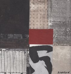 """Zen 5, by Donna Watson 8""""x8"""",  $150,  etsy.com, SOLD"""