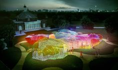 Magic mushroom maze: this summer's Serpentine pavilion will be a psychedelic trip