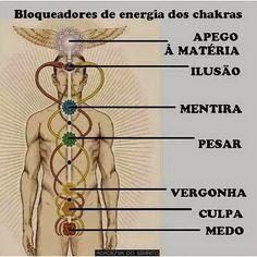 O DESPERTAR  DE UMA  ALMA!: Chakras e cura psíquica por Wagner Borges