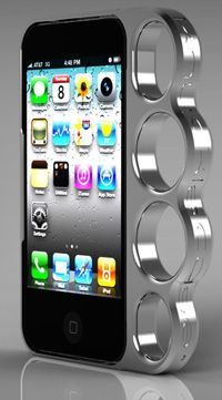 Dope Knuckle case for when i get an iphone