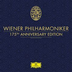 Wiener Philharmoniker - Wiener Philharmoniker - 175th Anniversary Edition Herbert Von Karajan, Barbara Bonney, Rockabilly, Wiener Philharmoniker, New Year Concert, Vienna Philharmonic, Rock Y Metal, Leonard Bernstein, Vinyl Lp