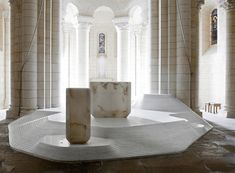 St Hilaire Church, Melle, 2011 - Mathieu Lehanneur
