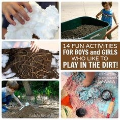 14 Fun Activities for Kids Who Love to Play in the Dirt