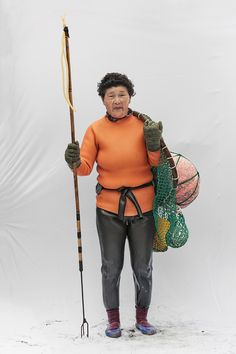 Portraits of Haenyeo, traditionally female Korean divers, soon to be declared an intangible cultural heritage of humanity by UNESCO. From a series by Hyung S. Kim
