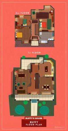 """""""Breaking Bad"""", """"Sherlock"""", """"Stranger Things""""... voici les plans des maisons et appartements de 8 séries télé"""