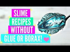 Testing Popular No Glue No Borax Slime Recipes! How To Make Slime Without Glue Or Borax TESTED - YouTube